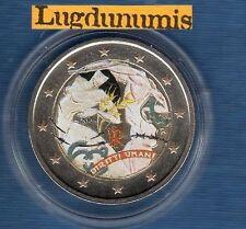 2 euro Commémo Couleur Color - Italie 2008 Droits de L'Homme Type I Italia