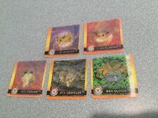 5 Artbox Premier Edition Pokemon Action Flipz 3D Cards