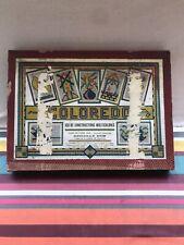Ancien Jeu COLORADO Construction Multicolores Pions Bakélite Vintage