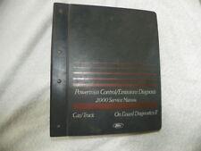 Factory Original 2000 Ford Powertrain Control Emissions Diagnosis Service Manual