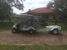 Golf Cart And Trailer, House Keeping Set Up For Resorts/Hotels Etc