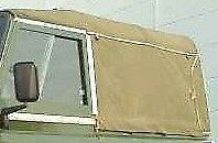 NEW 90 Full Land Rover 84-03 Canvas Hood Rear Window Only (Black)