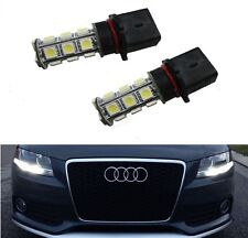AUDI A4 B8 B8.5 - P13W Xenon WHITE SMD LED Bulbs DRL DAYTIME SIDELIGHTS