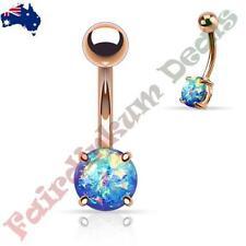 Opalite 14g (1.6 mm) Gauge (Thickness) Piercing Jewellery