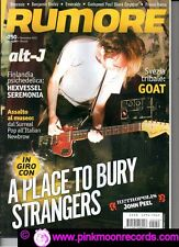 RUMORE 250/2012 - ALT-J SEREMONIA HEXVESSEL GOAT A PLACE TO BURY STRANGERS