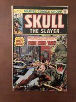 Skull The Slayer #1 (1975) 6.5 FN Marvel Bronze Age Comic Book Key Issue