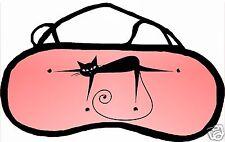 Masque de sommeil cache yeux anti lumière fatigue chat personnalisable REF 30