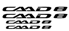 Cannondale CAAD 8 Bike Frame Decals Sticker Set MTB DH Freeride Cycling Road