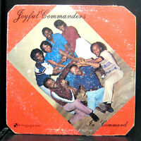 Joyful Commanders - In Command LP VG LP Checkmate 1981 Private Modern Soul Funk