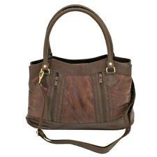 Schultertasche Handtasche Damentasche Handbag Shopper Tasche Patchwork Leder