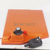 250x350mm 350W Silicone Rubber Heater Pad LCD Screen Separator R with Thermostat