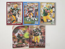 DORSEY LEVENS - 5 verschiedene Trading Cards (Lot) - GREEN BAY PACKERS