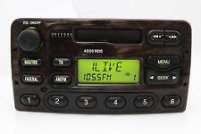 Original Ford 4000 RDS Holz Optik Kassette Autoradio XS6F-18K876-CA 10 R- 020025