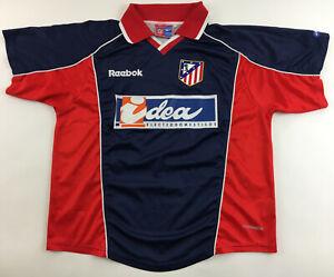 Atletico Madrid 2000/01 2002 11 Reebok shirt jersey Idea camiseta maglia vintage