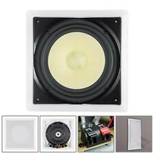 "300W 10"" In Wall Passive Subwoofer Audio Speaker Fiber 8-ohms 33~230Hz 88dB"