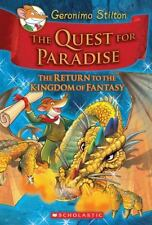 Geronimo Stilton and the Kingdom of Fantasy #2: The Quest for Paradise: By St...