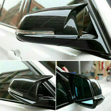 Pair Carbon Fiber Wing Mirror Cover Replacement For BMW 1 2 3 4 Series F20 F21