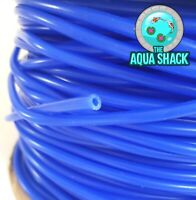 Blue Air Line Flexible Silicone for Aquarium Air Pump - 4mm Hose Pond Tubing