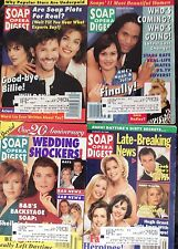 Soap Opera Digest 1995 Lot of 4. Sept. Aug. Nov. B & B, Days,