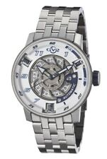 GV2 by Gevril Men's 1301B Motorcycle Sport Automatic Stainless Steel Wristwatch