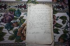 Dokumente r 35 / Klein Strömkendorf 1866 / Rechnung Nantrow bei Alt Buckow