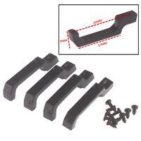 4PCS Black Door Handle  for 1/10 RC Crawler Axial SCX10 D90 Tamiya CC01