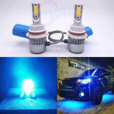 9007 Hb5 8000K Ice Blue Led Headlight Bulbs High Low Beam Conversion Kit Pair