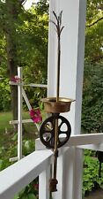 ANTIQUE Gear Driven FRENCH Cast Iron Copper & Brass Bottle Washer - Very Unique