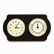 "WEATHER STATIONS - ""NEWPORT"" CLOCK AND TIDE CLOCK - NAUTICAL DECOR"