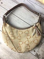 LIZ CLAIBORNE - Tan Brown Small Hobo Style Designer Bag Purse Handbag BNWT