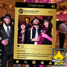 Great Gatsby Party Props (80 x 110 cm) Instagram Frame