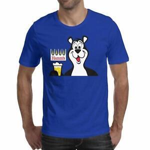 Hamms Beer, Bear T Shirt Funny Birthday Cotton Tee Vintage Gift Men Women
