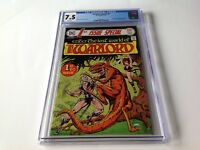 1ST FIRST ISSUE SPECIAL 8 CGC 7.5 WHITE PGS ORIGIN AND 1ST APP WARLORD DC COMICS