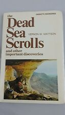 Dead Sea Scrolls and other important discoveries Vernon Mattson 2 cassettes LDS
