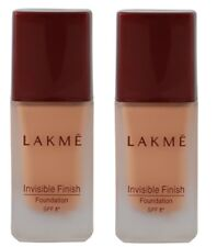 Lakme Invisible Finish SPF 8 Foundation, Shade 01, 25ml (pack of 2)free shipping