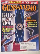 Guns & Ammo Magazine. March 2001. Verona 12 Gauge Longhorn .45  .308 Winchester
