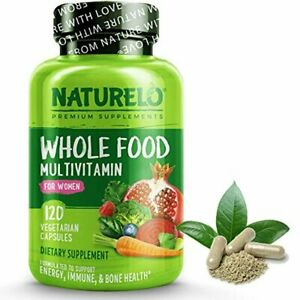 NATURELO Whole Food Multivitamin for Women - with Vitamins, Minerals, & Organic