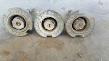 Vintage Champion sprinkler Head Lot Of 3.