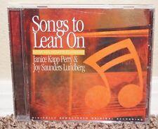 Songs to Lean On Janice Kapp Perry & Joy Saunders Lundberg Music CD LDS MORMON