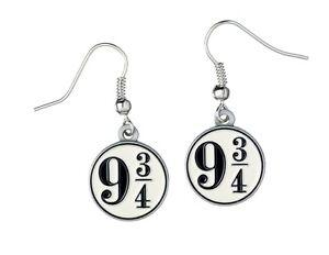 Official Harry Potter Jewellery Platform 9 3/4 Earrings