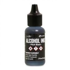 Ranger - Tim Holtz - Alcohol Ink - Pitch Black