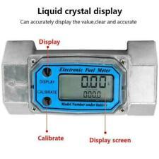 15 120l Turbine 15inch Npt Digital Gasoline Water Liquid Fuel Flow Meter