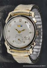 VTG Benrus 17J Rams Horns Lugs BB 4 10K Gold Filled Mens Watch Ready to Wear