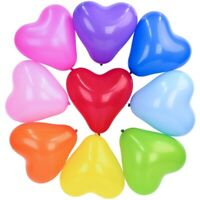 10 Inch heart latex party birthday/ wedding baby shower air / helium balloon
