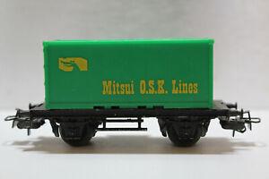 train HO MARKLIN wagon porte container