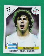 N°121 FABBRI ARGENTINA PANINI COUPE MONDE FOOTBALL ITALIA 90 1990 WC WM
