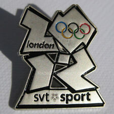 2012 London Summer Olympic SVT Media Pin