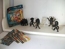 THUNDERCATS MINI FIG'S 6 ghost version's with paperwork, LION-O, MUM-RA, SLITHE