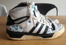 "ADIDAS METRO ATTITUDE ""STAR PACK"" TRAINER BASKETBALL BOOTS SIZE UK 4.5"