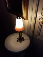 1 VERRE DE LAMPE À PÉTROLE DIAMANT CYLENDER B/&B L diam  6,5 cm au choix parmi 5